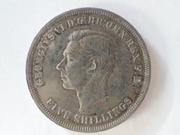 5 Shillings Crown George VI 1951 - 1902-1971 : Monnaies Post-Victoriennes
