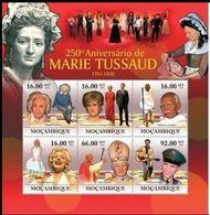 Mozambique 2011  Albert EINSTEIN Pope Jean Paul II Elvis PRESLEY Princesse DIANA GANDHI Marilyn MONROE  MNH - Actors