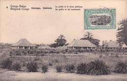 E.P. - CONGO-BELGE / Belgische Congo  - Katanga/Kabinda - Le Greffe Et La Force Publique - N°4 - 1921 - Entiers Postaux