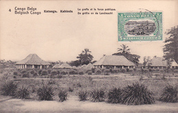E.P. - CONGO-BELGE / Belgische Congo  - Katanga/Kabinda - Le Greffe Et La Force Publique - N°4 - 1921 - Enteros Postales