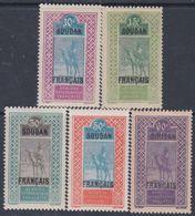 Soudan N° 37 / 41  XX  La  Série Des 5 Valeurs Sans Charnière TB - Soudan (1894-1902)