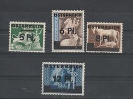 Mi. Nr. 664 - 667 Postfrisch - 1945-.... 2ème République