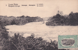 E.P. - CONGO-BELGE / Belgische Congo  - Katanga/Kisengwa - Le Lomami - N°3 - 1921 - Enteros Postales