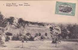 E.P. - CONGO-BELGE / Belgische Congo  - Boma  - Plateau / Hoogvlakte - N°1 - 1921 - Enteros Postales