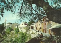 Mostar (Bosnia Erzegovina, Ex Jugoslavia) Scorcio Panoramico, Partial View, Vue, Ansicht - Bosnia Erzegovina