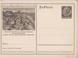 LERNT DEUTSCHLAND FENNEN ! POSTKARTE DEUTSCHES REICH OSTSEEBAD - Allemagne