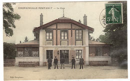 EMERAINVILLE PONTAULT (77) - La Gare - Carte Colorisée - Ed. Rorphuro - Other Municipalities