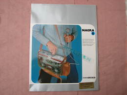 NAGRA  Catalogue 1984 + Documentation MAGNETOPHONE Tarif Etc  Voir Photos  T.B.E. - Sciences & Technique