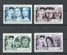 TUVALU YVERT 587/90   MNH  ** - Tuvalu (fr. Elliceinseln)