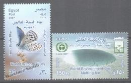 Egypt 2007 Yvert 1967-68, World Environment Day - MNH - Unused Stamps