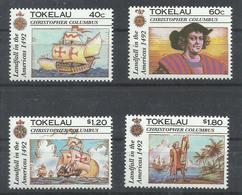TOKELAU YVERT 188/91    MNH  ** - Tokelau