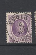 COB 198 Oblitération Centrale YVOIR Dispersion D'un Ensemble Houyoux Oblitérations Concours - 1922-1927 Houyoux