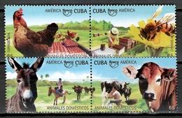 Cuba 2018 / Birds Bees Mammals UPAEP MNH Vögel Säugetiere Bienen Aves Abejas Mamíferos / Cu11415  C3 - Cuba
