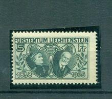 Lechtenstein, Fürst Von Liechtenstein Nr. 89 Falz * - Liechtenstein