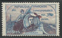 FRANCE 1920 - PRECURSEUR DE LA POSTE AERIENNE - GUYNEMER - Poste Aérienne