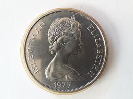 One Crown Isle Of Man 1977 - 1902-1971 : Monnaies Post-Victoriennes