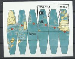 UGANDA YVERT  H/B 156   MNH  ** - Uganda (1962-...)