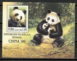 Cuba 1999 / Mammal Panda Bear MNH Mamífero Oso Panda Säugetiere / Cu11308  C3 - Orsi