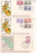FDC Rodan 1011 1013-18 - 1951-60