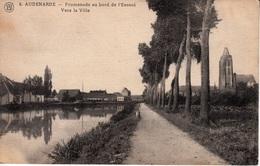 Oudenaarde - Promenade Au Bord De L'Escaut Vers La Ville  - Schelde - Oudenaarde