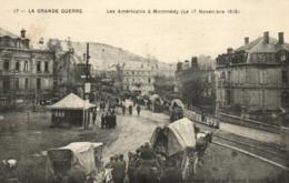 55 - Meuse - Montmédy - Les Américains ( 17 Nov. 1918 - C 3972 - Montmedy