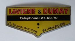 Autocollant - LAVIGNE Et DUMAY - 64 PAU - BILLERE - 8 X 3,5 Cm - - Adesivi