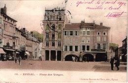 FR88 EPINAL - 58 - Place Desvosges - Animée - Belle - Epinal