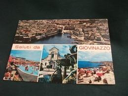 Conchiglia Shell  COQUILLES   CONCHAS  FONTANA SALUTI DA GIOVINAZZO VEDUTE BARI - Saluti Da.../ Gruss Aus...