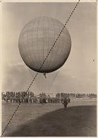 Grande Photo Ballon Montgolfière Ville De Bruxelles Varsovie - Foto