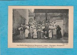 """Les Petits Chanteurs De Dampmart. - Lagny - Thorigny - Pomponne. - Représentant Le Groupe Folklorique """" La Brie """" - Autres Communes"""