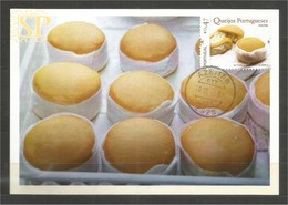 Postal Máximo Gastronomia Portugal  Maximum Maxicard Fromage Cheese Queso - Alimentation