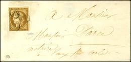 OR (3 Frappes) / N° 1 Sur Devant De Lettre Locale. - TB. - R. - 1849-1850 Ceres