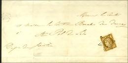 Etoile / N° 1 (leg Def) Sur Imprimé Complet Pour St Paul De Léon. 1852. - TB. - 1849-1850 Ceres