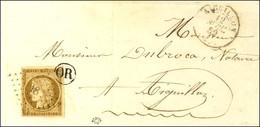 PC 18 / N° 1 Belles Marges Càd T 15 AIGUILLON (45) Sur Devant De Lettre Locale. 1852. - TB. - 1849-1850 Ceres