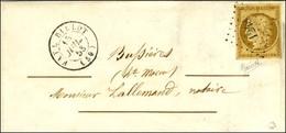 PC 1248 / N° 1 Belles Marges Càd T 15 FAYL BILLOT (50) Sur Lettre Locale. 1853. - SUP. - R. - 1849-1850 Ceres