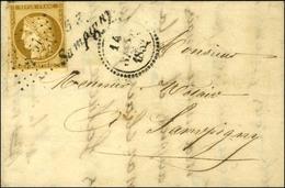 PC 2797 / N° 1 Belles Marges Cursive 53 / Sampigny Sur Lettre Locale Dateur B. 1852. - TB / SUP. - R. - 1849-1850 Ceres