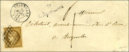Grille / N° 1 Très Belles Marges Càd T 15 BRIGNOLES (78) Cursive 78 / La Roquebrussanne Sur Lettre 2 Ports Insuffisammen - 1849-1850 Ceres