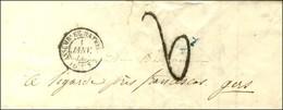 Càd ASSEMBLEE NATIONALE / POSTES 1 JANV. 49 Taxe Tampon 2 Sur Lettre Avec Texte Pour Ligarde (Gers). 1er Jour Du Changem - 1849-1850 Ceres