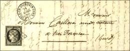 Grille / N° 3 Noir Sur Blanc Càd T 15 L'ISLE-EN-JOURDAIN-GERS 31 Sur Lettre Pour Vic Fezensac. 1850. - SUP. - 1849-1850 Ceres