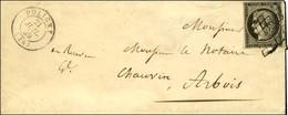 Grille / N° 3 Càd T 15 POLIGNY (38). 1849. - TB / SUP. - 1849-1850 Ceres