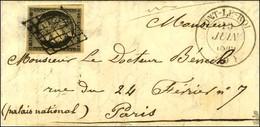Grille / N° 3 Belles Marges Càd T 14 PONT-LE-ROY (9). 1849. - SUP. - R. - 1849-1850 Ceres