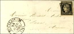 Grille / N° 3 Leg Def Càd T 12 ST CALAIS (71). 1849. - TB. - R. - 1849-1850 Ceres