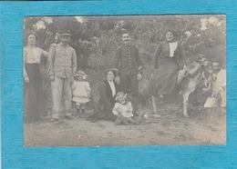 Carte Photo : Camp De Détenus De Bossuet. - Autres Communes
