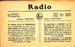 Radio Trein Train - 6 Kaarten / Cartes - Nels - Trains