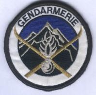 Insigne De Bras Du Peloton De Gendarmerie De Haute Montagne - Police & Gendarmerie