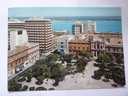 "Cartolina Viaggiata ""TARANTO Panorama Piazza Garibaldi"" 1969 - Taranto"