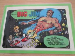BIG JIM  !!!  Pour  Collectionneurs ... PUBLICITE  Page De Revue Des Années 70/80 Plastifiée Par Me - Other Collections