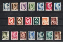 1946 - Roi Michel I  Papier Blanche  Mi No 929x /973x  MNH - Neufs