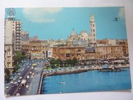 """Cartolina Viaggiata """"BARI Lungomare E  Cattedrale"""" 1972 - Bari"""
