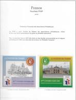 Feuillet FFAP N° 1 à 6 Sur Feuilles Album Yvert - FFAP